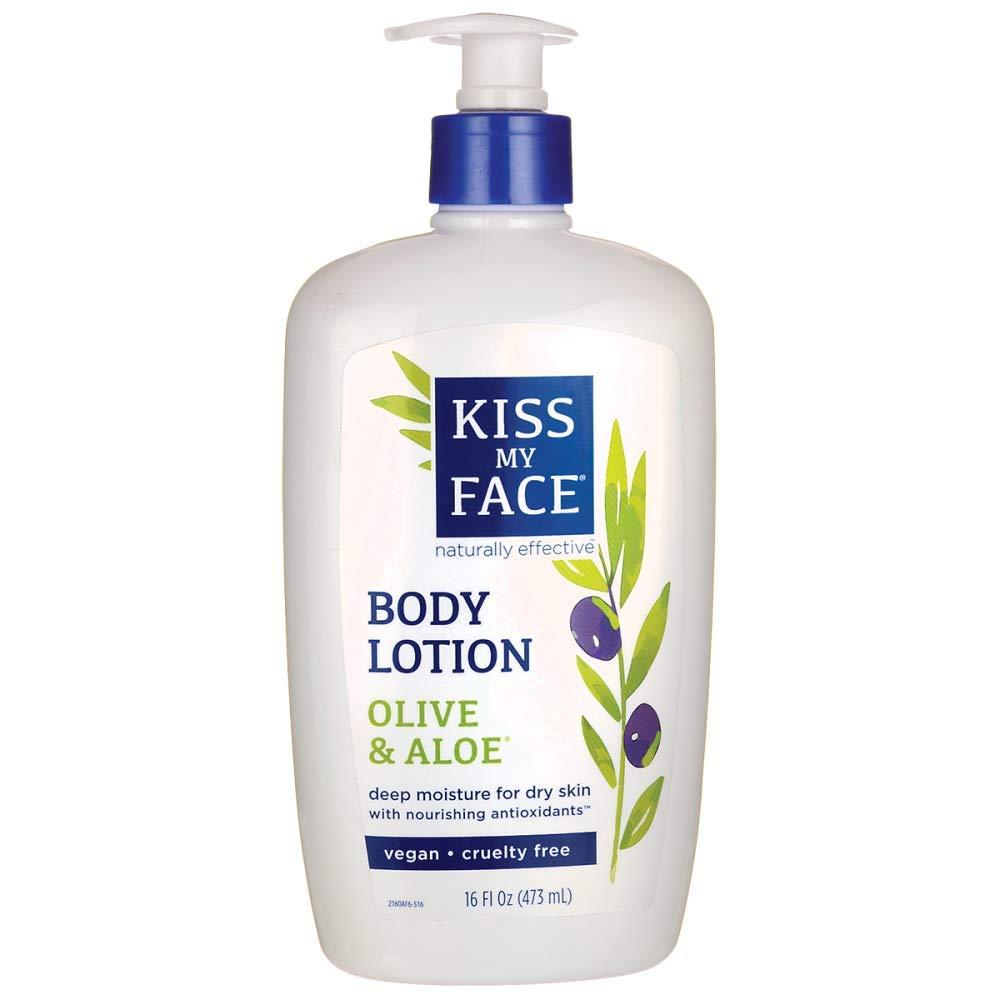 Kiss My Face Natural Olive & Aloe Moisturizer - 16 oz