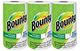 #10: Bounty White Paper Towels, 3 Rolls, 40 Sheets Each