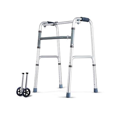 LYXPUZI Viejo Andador de Cuatro pies - Andador Que Camina ...