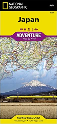 Japan Adventure Amazoncouk Geographic National Maps - Japan uk map