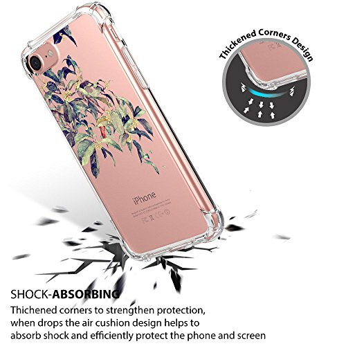 Thin Scratch Slim BackCase per Trasparente TPU Custodia 7 Silicone Premium Cover iPhone Anti iPhone 8 8 Flessibile Clear Apple 7 iPhone 01 iPhone Gel Ultra Crystal xTvnPpfUn