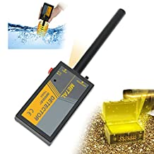 all-sun Portable Handheld Metal Detector Waterproof High Sensitive Hunter Wand Pin Pointer Gold Finder with Spotlight