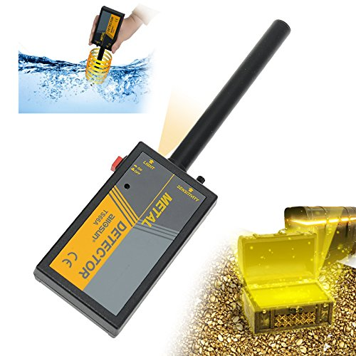 all-sun Handheld Metal Detector TS66A Waterproof Wand Pin Pointer with Spotlight by all-sun