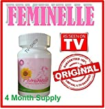 Feminelle 120 capsules 2 month supply Natural Menopause Relief by Vitamedix