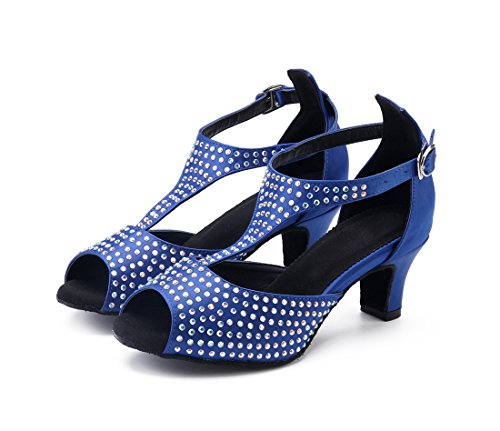 5 MGM 5cm e Blue Joymod Donna Heel Moderno Jazz naaZqwYT6