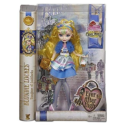 Sugar Coated Cupcake - Ever After High Blondie Lockes Fashion Doll, 10.5