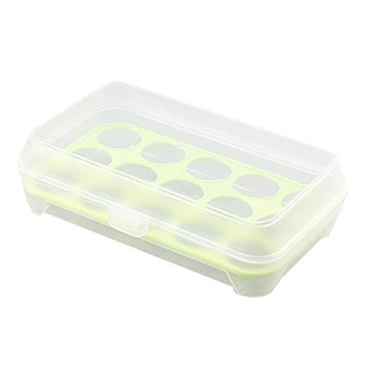 Portátil 15 Rejilla Caja de Almacenamiento de Huevos Caja de ...