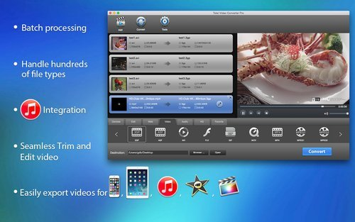 Avi Mpg Converter (Total Video Converter software for Mac - [Digital Download only] Convert, Burn MP3 MPG MP4 MKV FLV AVI 3GP WMV WAV MOV)