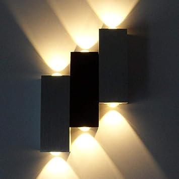 Led Applique Murale Vers Le Bas Lampe Applique Extérieure Intérieure