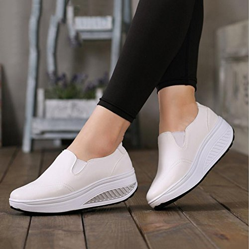 de Ons Shake Chaussures Slip Une Mocassins Sneakers Chaussures Printemps amp; PU Conduite Secouer Femmes Shake Chaussures Automne Mocassins de Chaussures sport Chaussures Fitness plats Chaussures Chaussures 60YxnOS