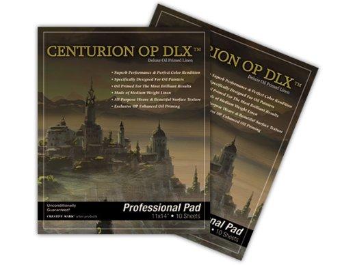 Centurion Deluxe Oil Primed Linen Pad 11×14″