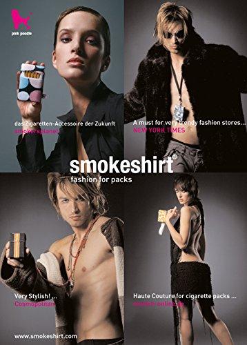 Cigarettes Smokeshirt Case Treasure Cigarette Pour Club 100 Étui À Mm Revêtement Élégant Longue PTfZxP