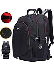 FreeBiz 21 Inch High Laptop Backpack fits under 19 Inch Gaming Computer Notebook Macbook for Men Student (18.4...