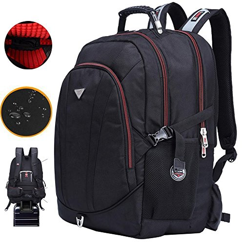 FreeBiz 21 Inch High Laptop Backpack fits under 19 Inch Gaming Computer Notebook Macbook for Men Student (18.4 inch) by FreeBiz
