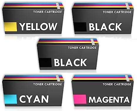 Prestige Cartridge Combo Pack - 5 x Compatible TN-241 Cartuchos de ...