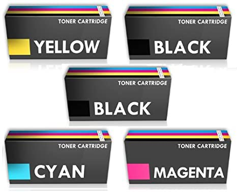 Prestige Cartridge 5 x Compatibles TN-243 TN-247 con Chip ...