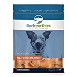 Best Barkworthies Bully Sticks Usas - Barkworthies USA Chicken Jerky Chew for Pets, 6-Ounce Review