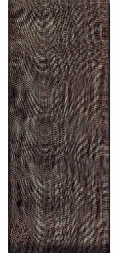 - Offray Lady Chiffon Sheer Craft Ribbon, 7/8-Inch Wide by 100-Yard Spool, Black
