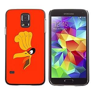 SKCASE Center / Funda Carcasa - Cartoon Angry Bird;;;;;;;; - Samsung Galaxy S5