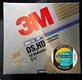 3M Imation Diskettes 5 1/4'' 10 per package Double Sided High Density