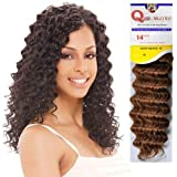 "Human Hair Master Mix Weave Milky Way Que Deep Wave [14""] (1b)"