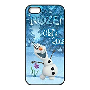 diy zhengFrozen happy snow baby Cell Phone Case for iPhone 6 Plus Case 5.5 Inch /