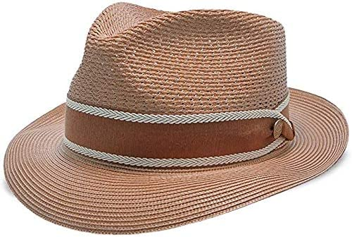 Stetson Creve Coeur Milan Straw Fedora Hat