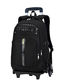 7eda7c1b7b Meetbelify Trolley School Bags Backpack For Boys With Six Wheels Climbing  Stairs
