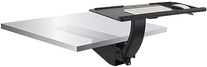 Montaje ¡Bandeja de teclado con soporte para sentarse ...