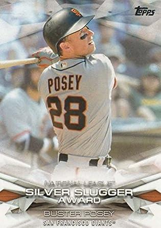 finest selection bc1b6 2ac06 Amazon.com: 2018 Topps MLB Awards #MLBA-32 Buster Posey San ...