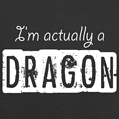 Im Actually A Dragon 1-13 Years 9 Colours Kids Hoodie