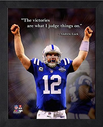Andrew Luck Indianapolis Colts ProQuotes Photo (Size: 9
