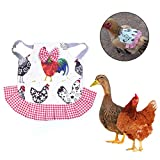 Kapokilly Poultry Apron, Feather Protection Holder Chicken Duck Wings Back Protector