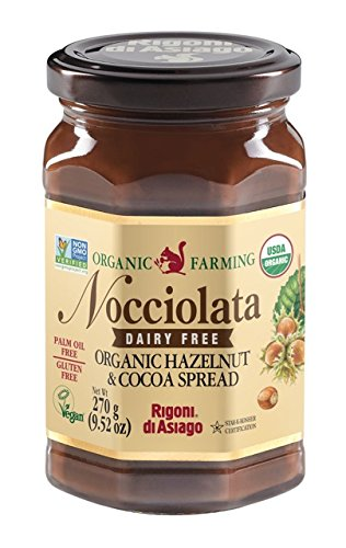 Rigoni di Asiago Nocciolata Dairy Free Organic Hazelnut Spread, 6 - Spread Organic