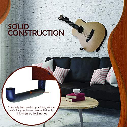 Horizontal Guitar Wall Hanger Tilt And Display Your