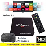 ARCstream MXq PRO - plus mini Keyboard - Android 5.1 - S905 Quad Core 1GB/8GB 2.0GHz Processor