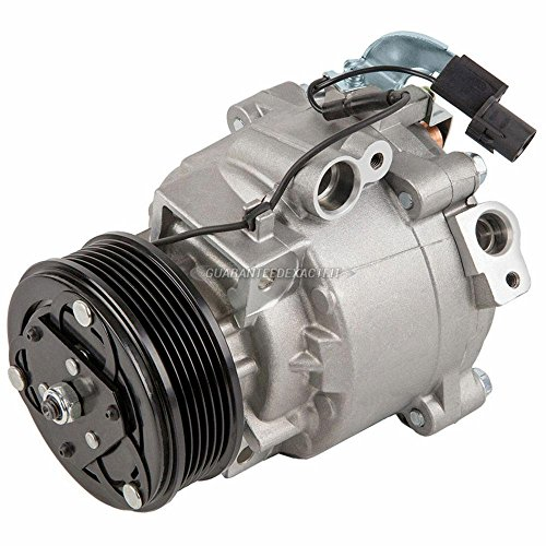 AC Compressor & A/C Clutch For Mitsubishi Lancer Outlander & Outlander Sport Replaces QS90 w/ 6-Groove 95mm Pulley - BuyAutoParts 60-03149NA New (Lancer New Mitsubishi)