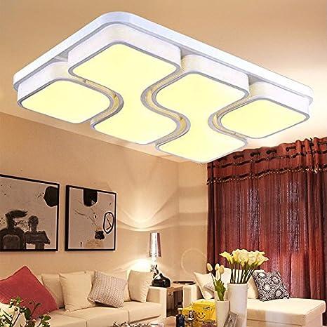 Sala moderna lámpara LED minimalista moderno rectangulares ...