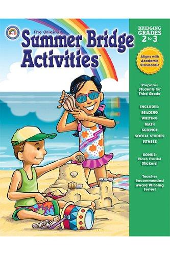 Carson-Dellosa Publishing Summer Bridge Workbook - Grades 2 to 3 RB-904121