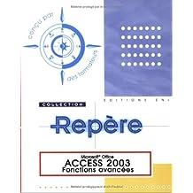 Access 2003-Fonctions avancées