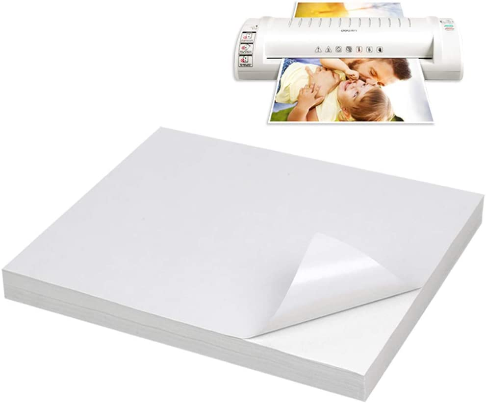 BUYGOO Impresora Papel A4 Etiquetas universales Autoadhesivas ...
