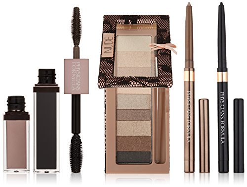 Physicians Formula Shimmer Strips Custom Eye Enhancing Kit, Nude - Eye Shadow : 0.26 Ounce, Eyeliner : 0.02 Ounce & Mascara : 0.28 Ounce