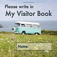 Please write in My Visitor Book: Coastal cover | Square | Guest record and memory-jogging...