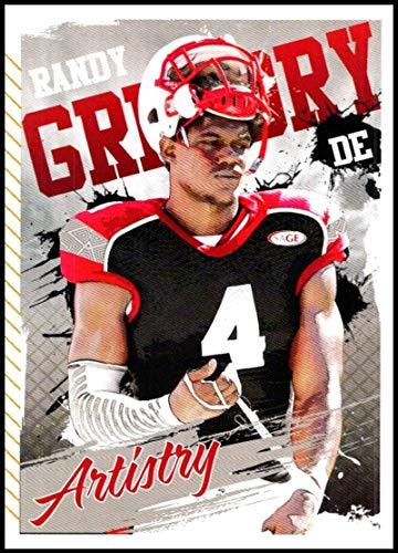 - 2015 Sage Hit Artistry #ART6 Randy Gregory NM-MT Nebraska Cornhuskers Football Trading Card
