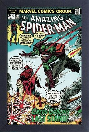 SpiderMan The Amazing SpiderMan 122 Framed Gelcoat Poster 11x17