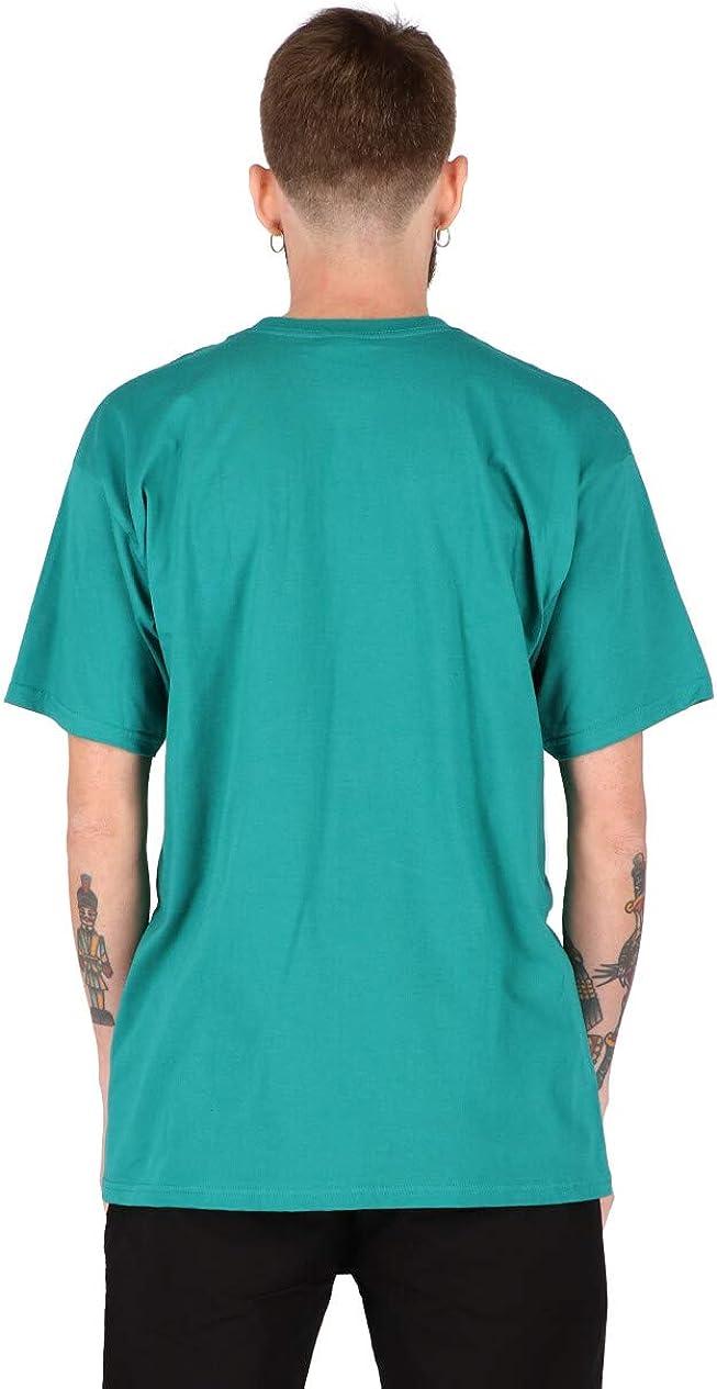 Obey Men's Novel Ss Basic Tee T-Shirt Teal
