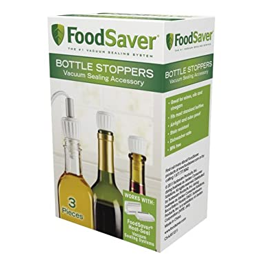 FoodSaver 3-Pack Bottle Stoppers