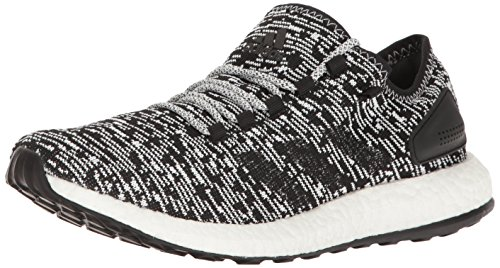 adidas Performance Men's Pureboost Running Shoe Black/Black/White