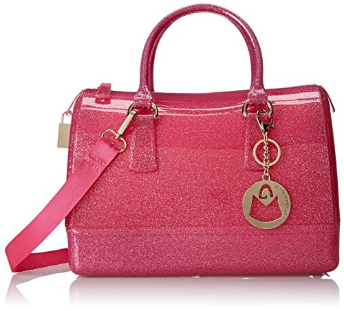 MG Collection Hannah Doctors Top Handle Candy Handbag, Fuchsia Pink, One Size