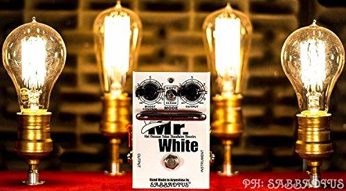Sabbadius Custom Pedal Effects Mr. White 2 Booster
